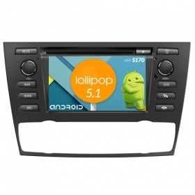 "Autoradio BMW E90/E91/E92/E93 2005 - 2012 Android 6,2"" HD Touch DVD Navi BT S170"