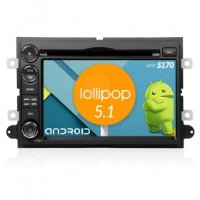 "Autoradio FORD Explorer Mustang Android 5.1 7"" HD Touch DVD Navi GPS BT ML S170"