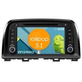 "Autoradio MAZDA 6 Android 4core 8"" HD Touch DVD Navi GPS BT ML WIFI S170"