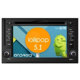 "Autoradio Hyundai H1 2011-13 Android 5.1 6,2"" HD Touch DVD Navi GPS BT WIFI S170"
