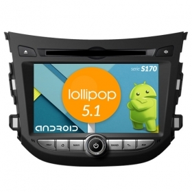 "Autoradio Hyundai HB20 Android 4core 7"" HD Touch DVD Navi GPS BT ML WIFI S170"