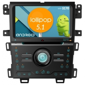 "Autoradio Ford Edge 2013 Android 5.1 9"" HD Touch DVD Navi GPS BT ML WIFI S170"