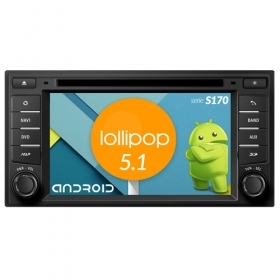 "Autoradio NISSAN Note / Juke Android 5.1 6,2"" HD Touch DVD Navi GPS BT WIFI S170"