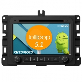"Autoradio DODGE RAM 1500 Android 4core 7"" HD Touch DVD Navi GPS BT ML WIFI S170"