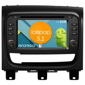 "Autoradio Fiat Strada Android 4core 6,2"" HD Touch DVD Navi GPS BT ML WIFI S170"