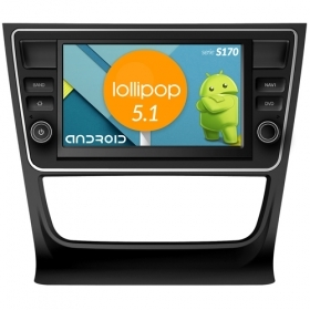 "Autoradio VW GOL 2013 Android 4core 7"" HD Touch DVD Navi GPS BT ML WIFI S170"