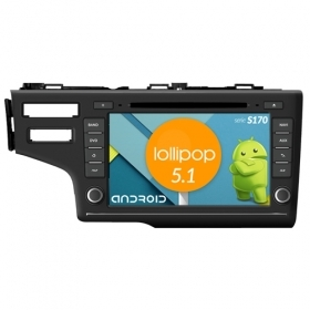 "Autoradio Honda Fit 2014 (Brazil) Android 5.1 8"" HD Touch DVD Navi GPS WIFI S170"