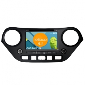 "Autoradio Hyundai i10 2013 Android 5.1 7"" HD Touch DVD Navi GPS BT ML WIFI S170"