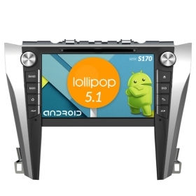 "Autoradio Toyota Camry 2015 Android 5.1 9"" HD Touch DVD Navi GPS BT ML WIFI S170"