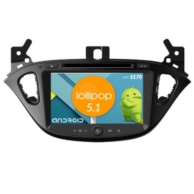 "Autoradio OPEL Corsa 2014 Android 4core 8"" HD Touch DVD Navi GPS BT ML WIFI S170"