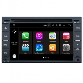 "Autoradio NISSAN Universale Android 7.1 Touch 6.2"" HD USB DVD GPS Navi WIFI S190"