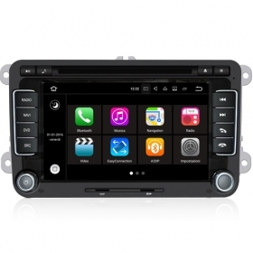 "Autoradio VW GOLF 5 6 V VI Seat Skoda Android 7.1 Touch 7"" HD DVD Navi GPS S190"
