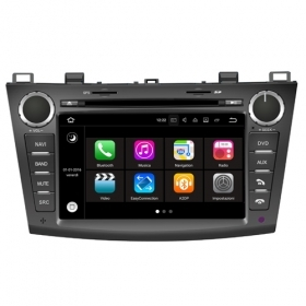 "Autoradio MAZDA 3 2010 – 2011 Android 7.1 Touch 8"" HD USB DVD WIFI BT GPS S190"