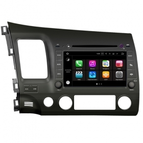 "Autoradio Honda Civic 2007 – 2011 Android 7.1 Touch 8"" USB DVD GPS WIFI BT S190"