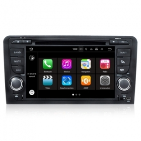 "Autoradio Audi A3 2003-12 Android 7.1 Touch 7"" HD DVD Navi GPS BT ML WIFI S190"