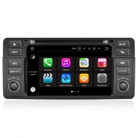 "Autoradio BMW SERIE 3 E46 M3 Rover 75 MG ZT Android 7.1 Touch 7"" USB DVD GPS BT"