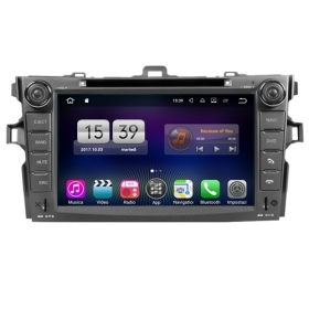 "Autoradio TOYOTA Corolla Altis 2008+ Android 7.1 Touch 8"" HD USB DVD GPS BT S190"
