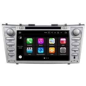 "Autoradio Toyota Camry 2008 – 2011 Android 7.1 Touch 8"" HD USB DVD GPS Navi S190"