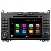 "Autoradio MERCEDES A/B CLASS 2004–2011 Android 7.1 Touch 7"" HD USB DVD GPS S190"
