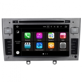"Autoradio PEUGEOT 408 Android 7.1 Touch 7"" HD USB DVD GPS Navi MirrorLink S190"
