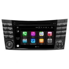 "Autoradio MERCEDES CLASSE E 2002–2008 Android 7.1 Touch 7"" HD USB DVD WIFI S190"