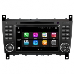 "Autoradio Mercedes W203 Classe C Android 7.1 Touch 7"" HD USB DVD GPS WIFI S190"