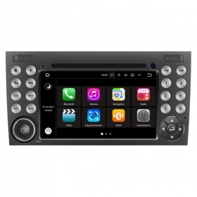 "Autoradio MERCEDES SLK 2008 – 2011 Android 7.1 Touch 7"" HD USB DVD WIFI GPS S190"