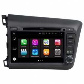 "Autoradio Honda CIVIC 2012 Android 7.1 Touchscreen 7"" USB DVD GPS WIFI BT S190"