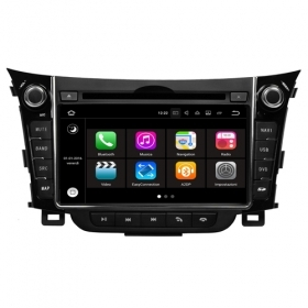 "Autoradio Hyundai i30 2012 Android 7.1 Touch 6.95"" USB DVD SD GPS WIFI BT S190"
