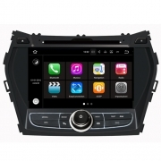 "Autoradio Hyundai IX45 / Santafe 2013 Android 7.1 Touch 8"" HD DVD GPS WIFI S190"