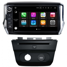 "Autoradio PEUGEOT 2008 Android 7.1 Touch 8"" HD USB DVD GPS Navi MirrorLink S190"
