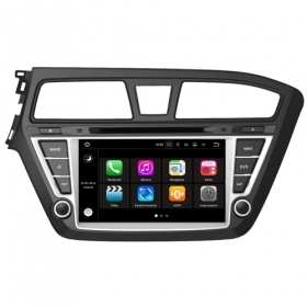 "Autoradio Hyundai I20 2015 Android 7.1 Touch 8"" HD USB DVD Navi MirrorLink S190"