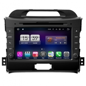 "Autoradio KIA Sportage 2011 – 2014 Android 7.1 Touch 8"" HD USB DVD WIFI GPS S190"
