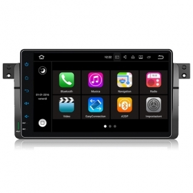 "Autoradio BMW SERIE 3 E46 1998-2006 Android 7.1 Touch 8"" USB DVD GPS WIFI S190"
