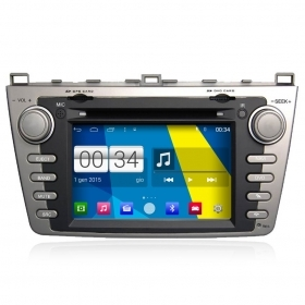 "Autoradio MAZDA 6 2009-11 Android 4.4 Touch 7"" HD DVD Navi GPS BT USB Wifi"