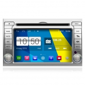 "Autoradio Hyundai i20 2008-12 Android 4.4 Touch 6.2"" HD DVD Navi GPS BT SD Wifi"