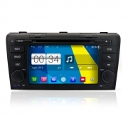 "Autoradio MAZDA 3 2004-09 Android 4.4 Touch 7"" HD DVD Navi GPS BT USB Wifi"