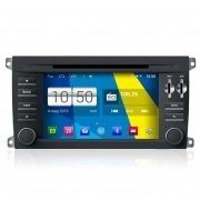 "Autoradio Android 4.4 Porsche Cayenne 7"" HD Touch DVD Navi GPS BT USB SD Wifi"