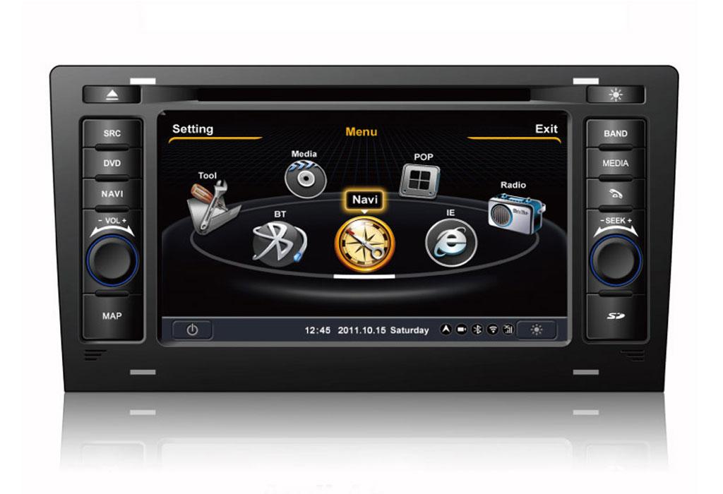 autoradio dme gps navigatore digitale usb sd audi A8