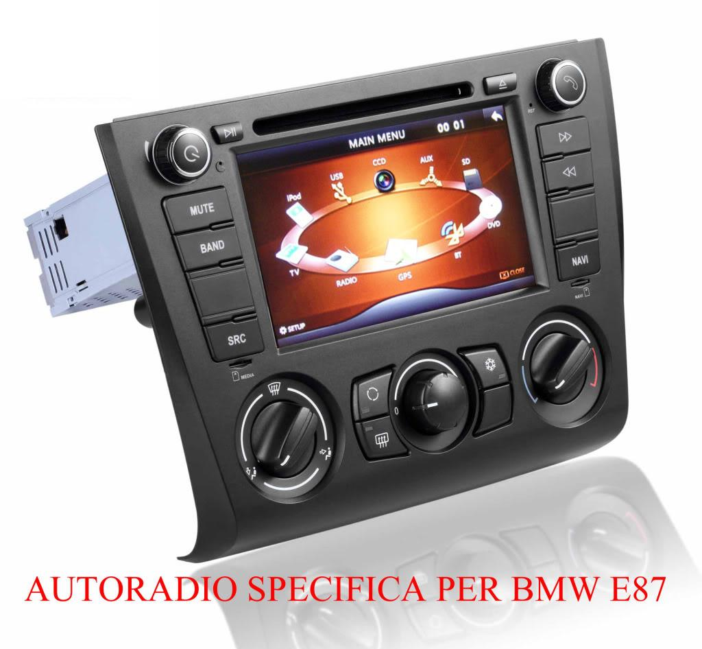 autoradio dme luxury edition bmw e87 e88 navigatore gps